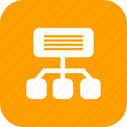communication, internet, network, site map icon