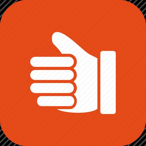 good luck, hand, like, thumbs up icon