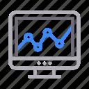 chart, graph, online, seo, analytics