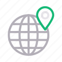 global, location, map, online, world