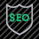 marketing, protection, secure, seo, shield
