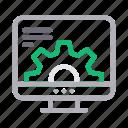 desktop, marketing, online, screen, seo