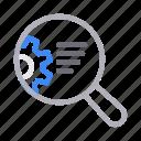 magnifier, marketing, search, seo, web