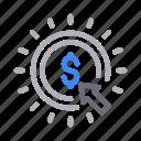 cursor, marketing, online, payperclick, seo icon