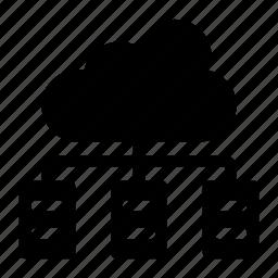 cloud, cloud file, computing, network, storage icon