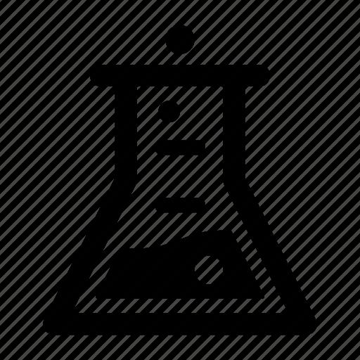 beaker, bubble, chemistry, experiment, laboratory, research icon