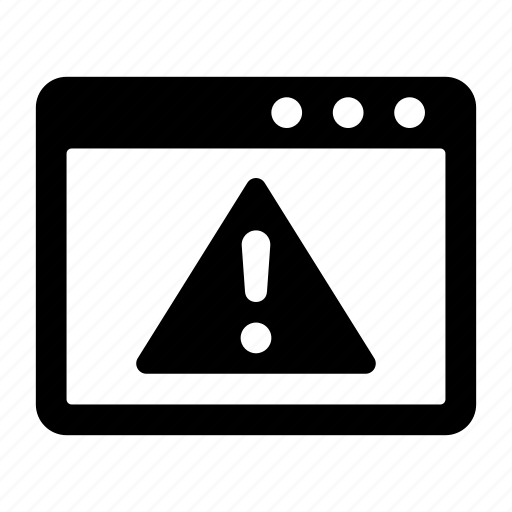 arlet, warning, warning browser, web warning, website icon