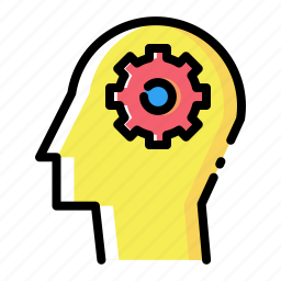 gear, idea, man, mind, preferences, settings, web icon