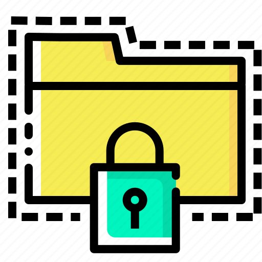 folder, lock, password, protect, secure, tools, web icon