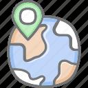 globe, local, seo, web
