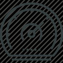 dashboard, internet, performance, seo, speed, speedometer icon