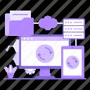 data, synchronize, file, storage, database, sync, cloud
