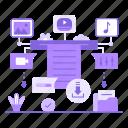 file, download, file format, audio file, video