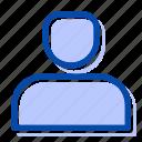 internet, profile, user, ux, web icon