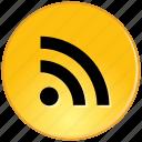 communication, feed, internet, network, rss, social, web icon