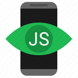 application, code, javascript, js, mobile icon