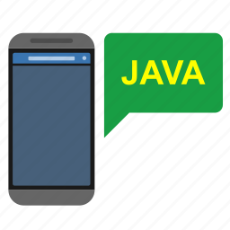 application, code, java, mobile, technology, web icon