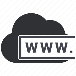 cloud, icloud, internet, online, services, web, www icon
