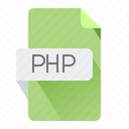 file, format, php, sheet icon