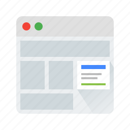 ads, adwords, marketing, web icon