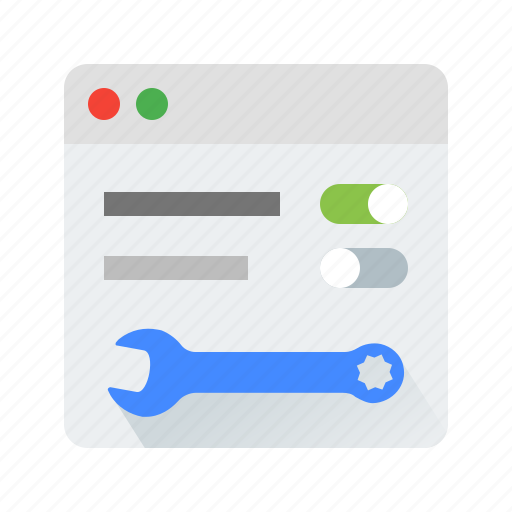 back, office, settings, tool icon