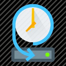 backup, data, disk, storage icon