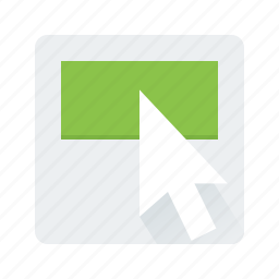 arrow, click, cursor, pointer icon