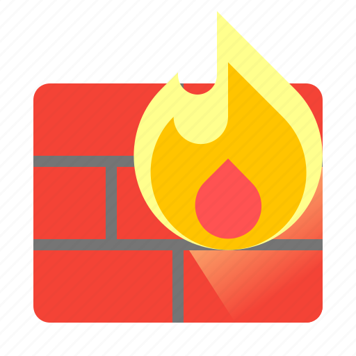 firewall, protect, protection, security icon