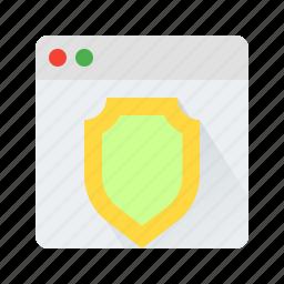 privacy, protect, secutity, shield icon