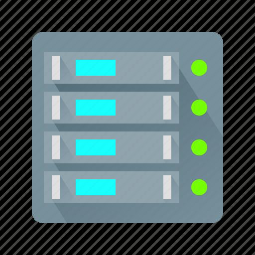 data, database, hosting, server icon