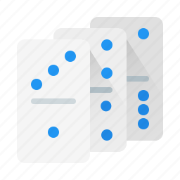 dominoes, game, play, trigger icon
