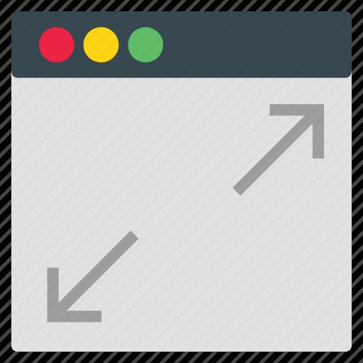 layout, net, web icon