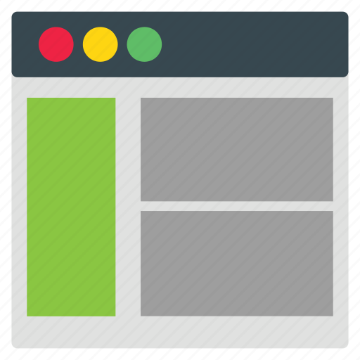 layout, templates, web icon