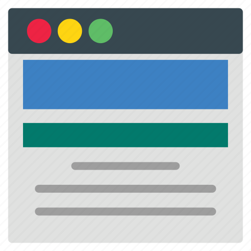 app, layout, template, web icon