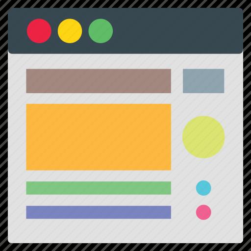design, template, website icon