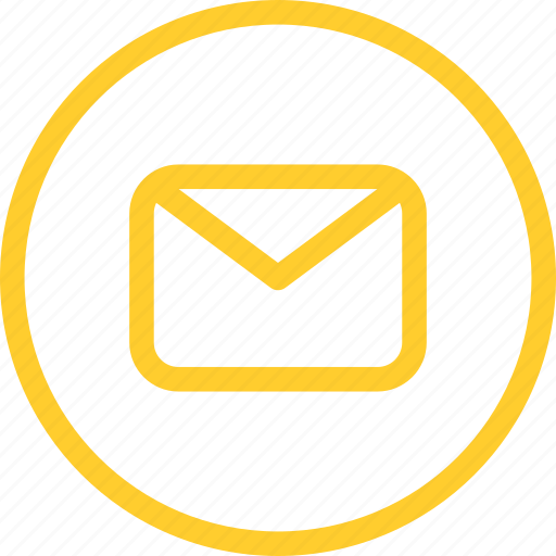 contacts, letter, line, mail, send, thin, web icon