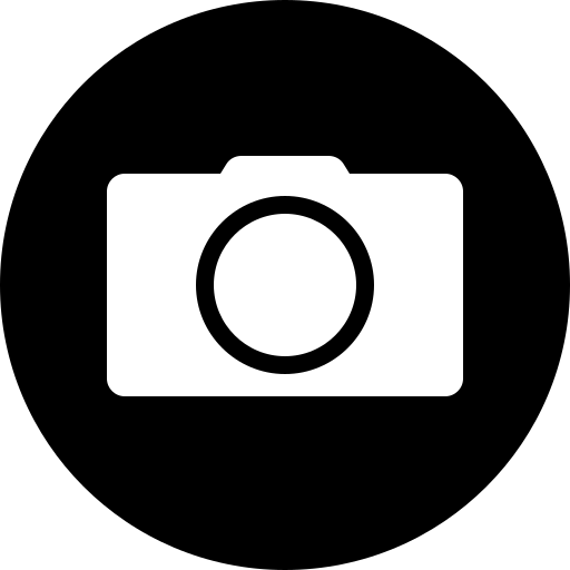 camera, circle, photo, photographer, photography, picture, shutterbug icon
