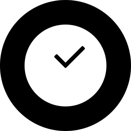 circle, clock, deadline, time, time management icon
