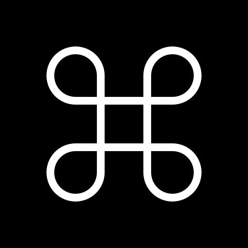 apple, circle, command, key, keyboard, modifier icon