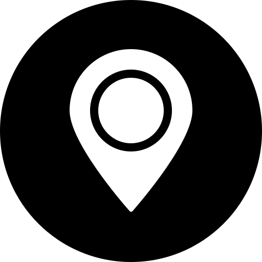 address, circle, gps, location, map, marker, navigation icon