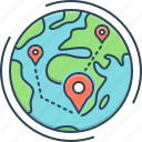 concepts, concepts map, landmark, locator, map, position icon