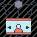 design, experience, user, user experience design icon