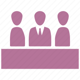 business meeting, business people, team management, teamwork icon