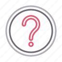 faq, help, question, sign, unknown icon