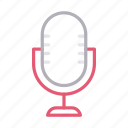 microphone, mike, recorder, speaker, voice icon
