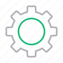 cog, configure, gear, preference, setting