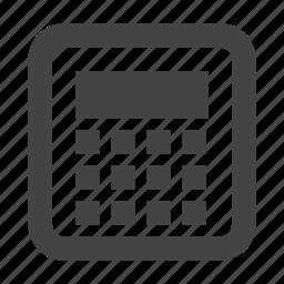 calculator, math, mortgage calculator icon