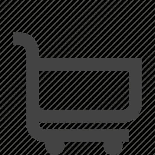 ecommerce, empty cart, shopping icon