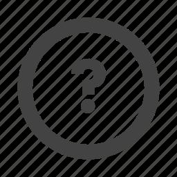 customer service, customer support, faq, question icon