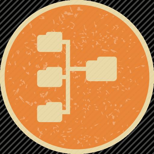 directories, folders, network icon